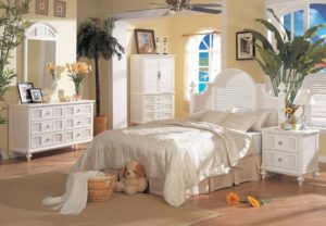 Key Largo Wicker Bedroom