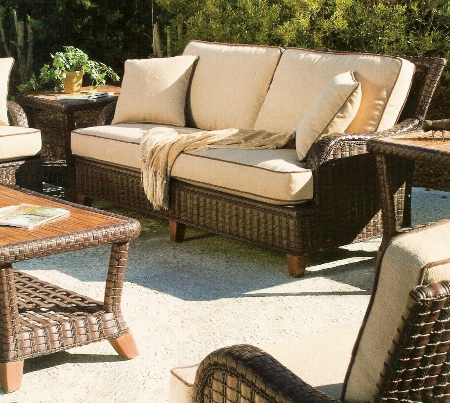 Lake Geneva Outdoor Wicker Furniture