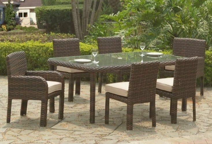 Saint Tropez Outdoor Wicker Dining Furniture