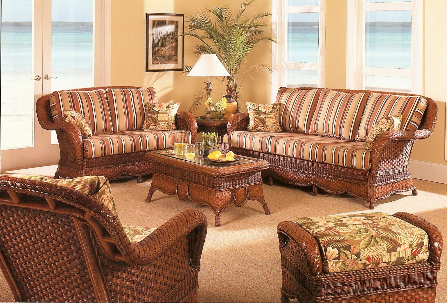 Wicker Indoor Furniture Sets | New House Designs