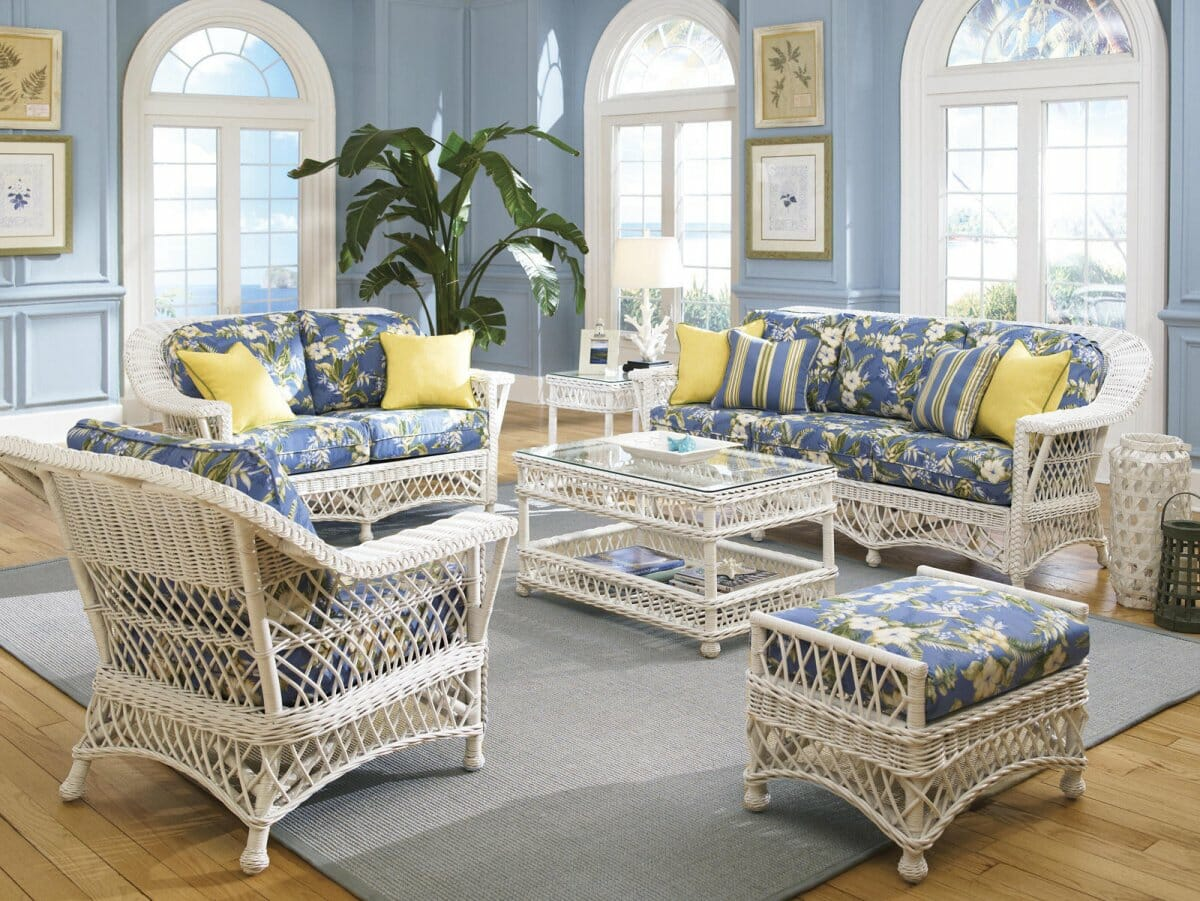 bar harbor wicker furniture kozy kingdom