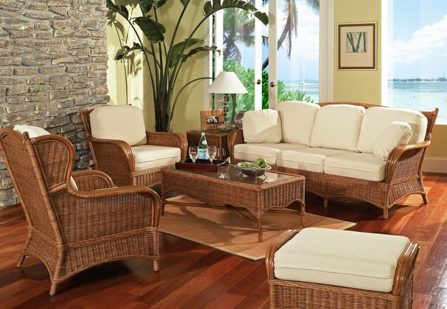 The Bodega Bay Rattan Collection Offers Many Combinations Including A  Sectional And Recliners. Sofa Sleepers Are Available With A Variety Of  Mattress ...