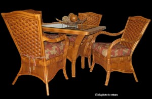 Kingston Reef Rattan Dining Set