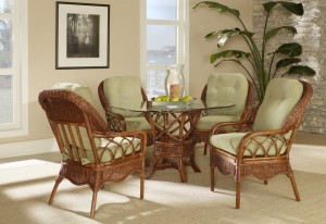 Eastwind Wicker & Rattan Dining Set