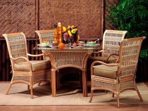 Island Paradise Rattan Dining Set