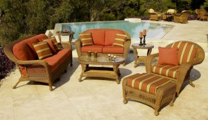 Long Island Outdoor Wicker Furniture
