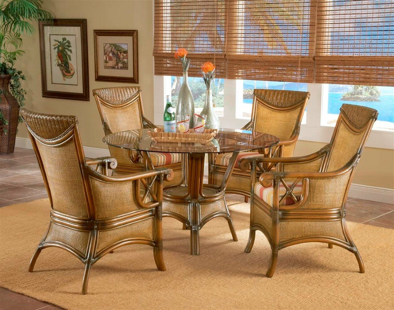 Pacific Shores Rattan Dining Furniture | Kozy Kingdom