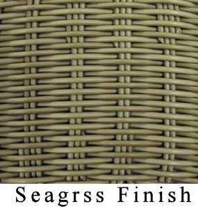 Resin Seagrass Finish