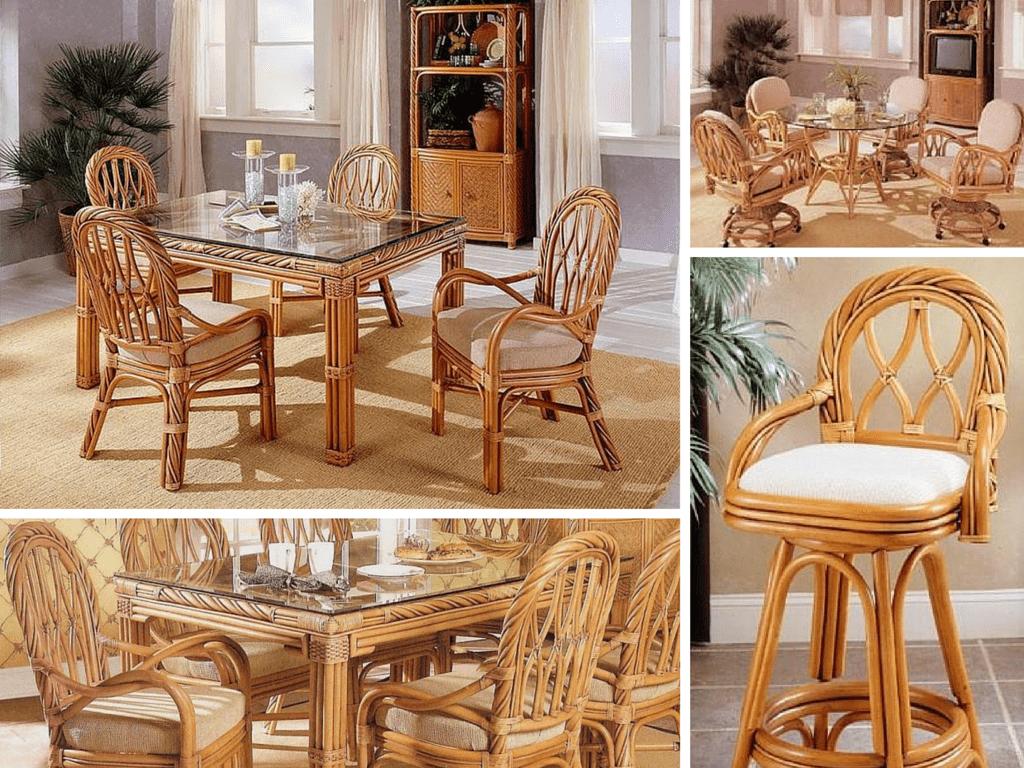 Maui Twist Rattan Dining Furniture