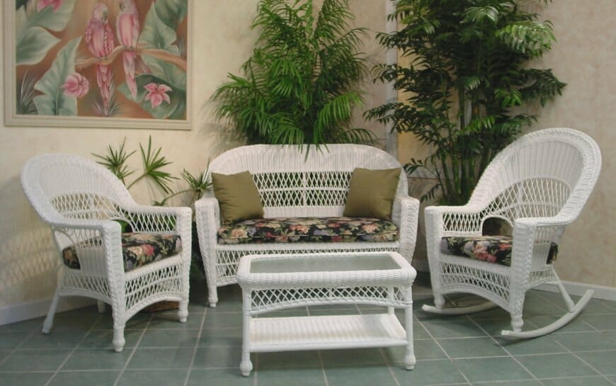 Wicker Furniture Indoor Or Outdoor I Kozy Kingdom
