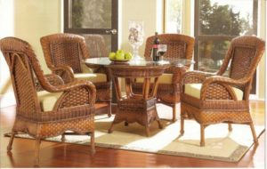 Autumn Morning Wicker Dining Furniture