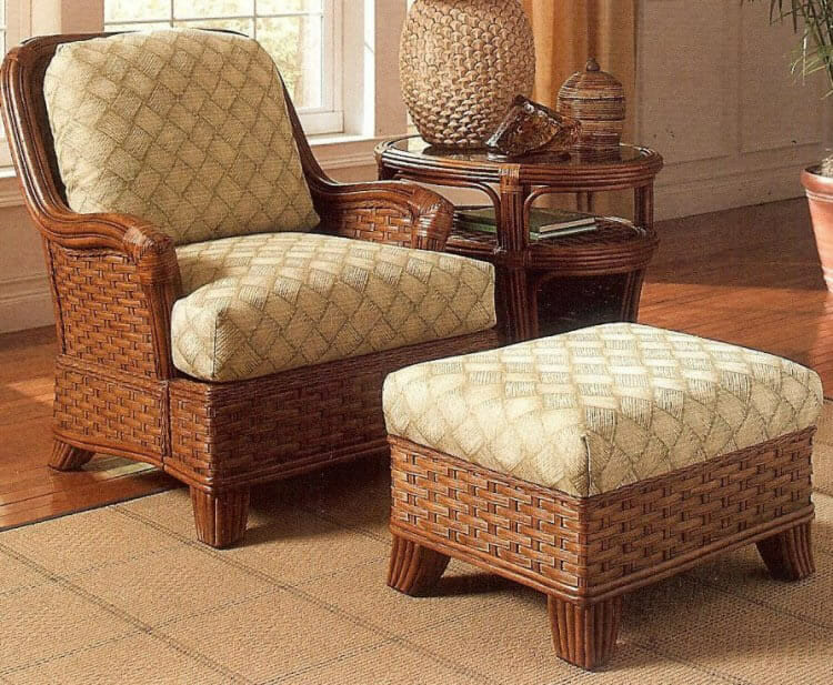 Wicker sofas indoor exterior interesting natural south sea for Furniture kingdom