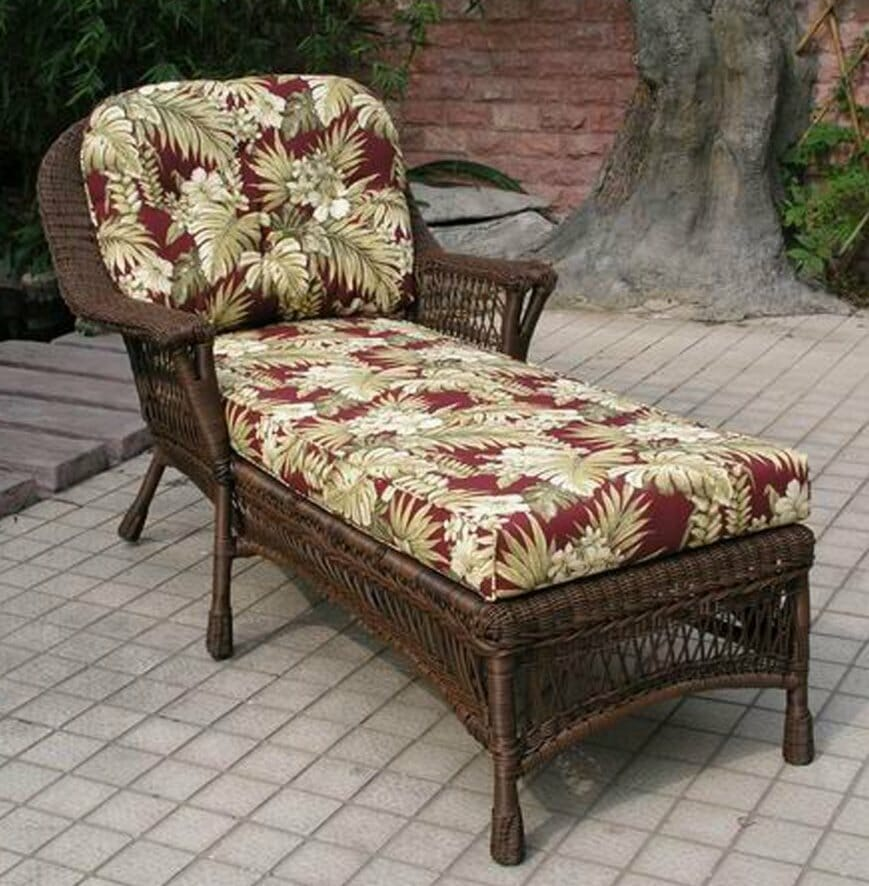 Bar harbor outdoor chaise lounge kozy kingdom for Chaise lounge bar