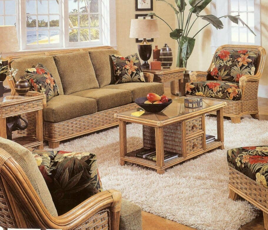 Summerset Rattan and Wicker Sunroom Furniture