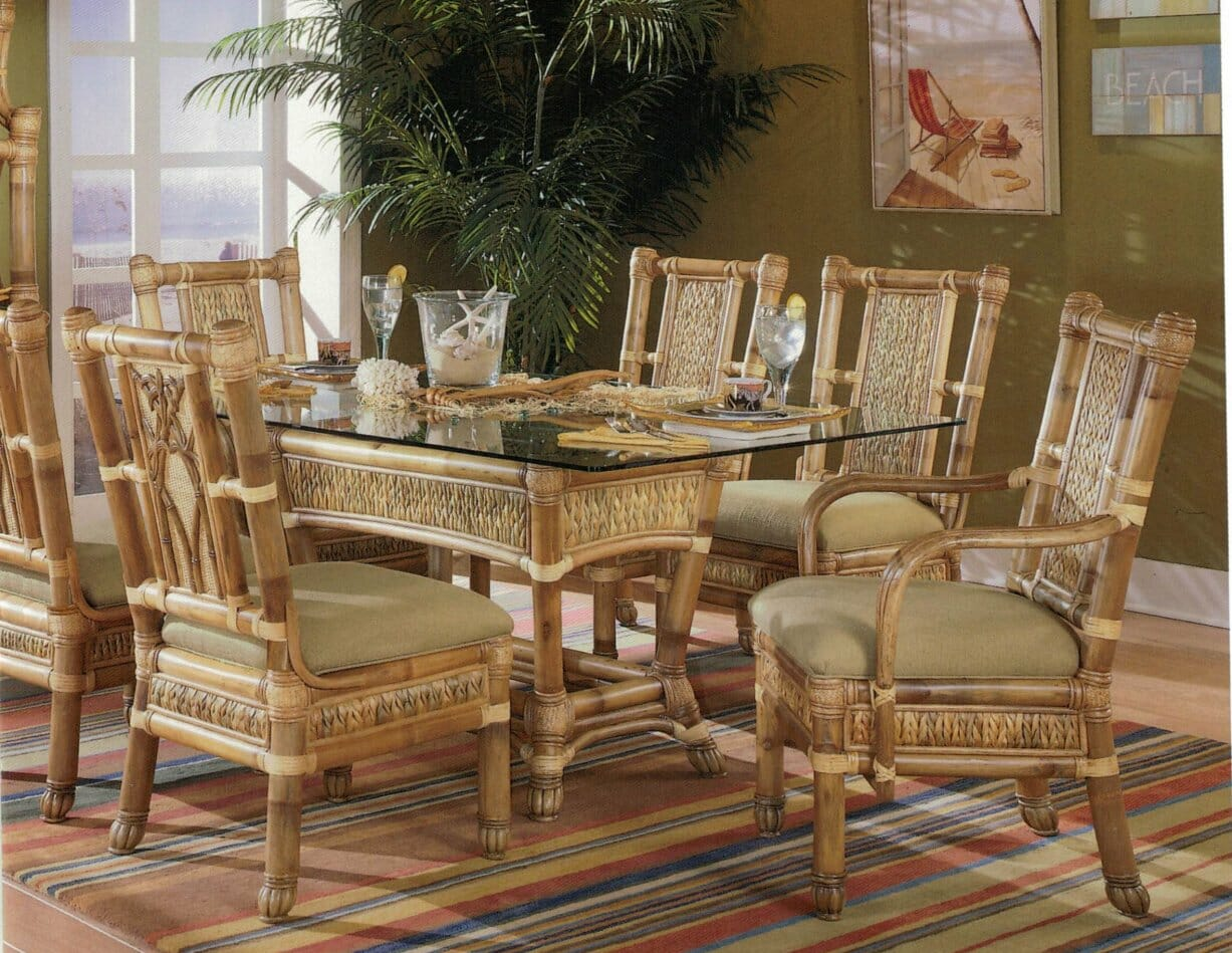 Bamboo Dining Set