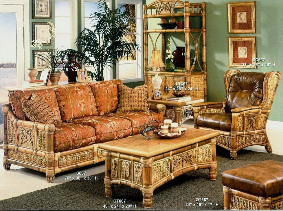 Bamboo Sunroom Furniture Price And Details