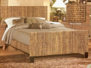 Maui Wicker Accent Bedroom
