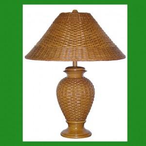 RT-801 Wicker Table Lamp