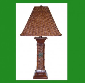 RT-824 Wicker Table Lamp