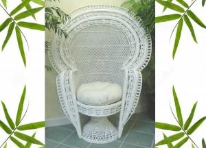Royal Peacock Chair