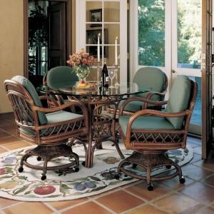 Indoor Rattan Wicker Dining Room Furniture & Sets