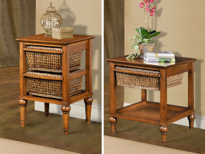 Abaco Wicker End Tables