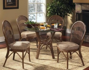Bermuda Side Chair Rattan & Wicker Dining Furniture