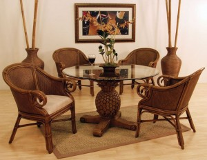 Casa Rattan and Wicker Club Chair Collection