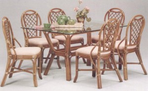 Trellis Rattan Dining Furniture