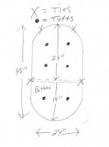 swivel rocker cushion diagram