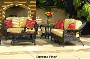Outdoor Long Island - Espresso