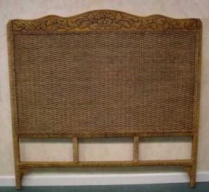 Woodcarved Headboard