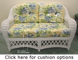 cushion options