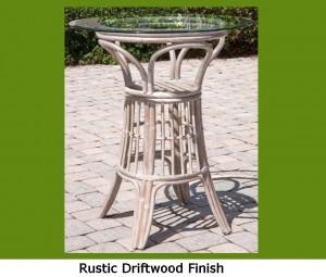 Universal Bar Table - Rustic Driftwood.