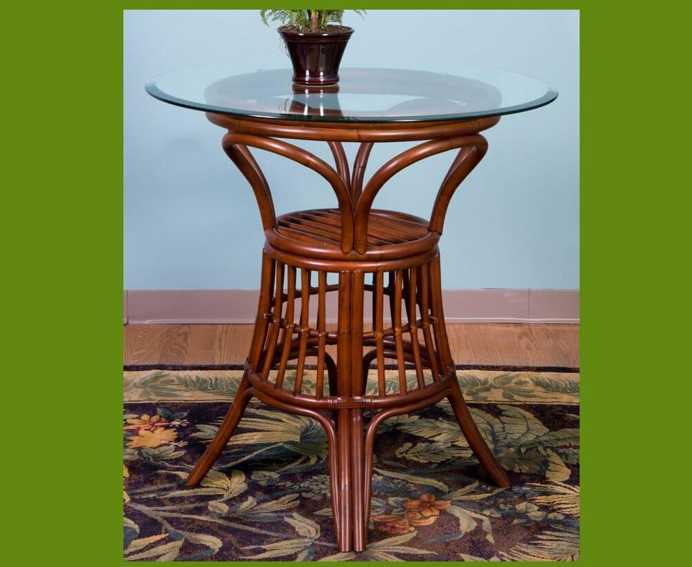 Counter Height Universal Table : Universal Rattan Bar Table Kozy Kingdom