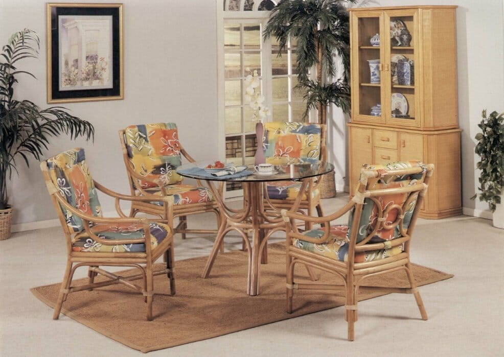 25430 rattan dining sets kozy kingdom