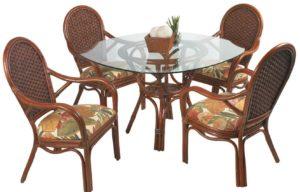 Rattan Dining Set - 55-18