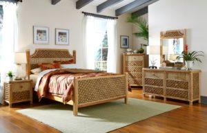 beautiful white wicker bedroom furniture | Wicker Bedroom Furniture | Kozy Kingdom | 800-242-8314