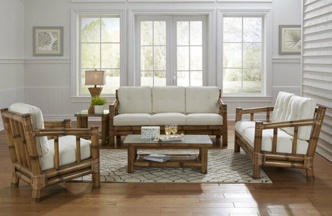 4500 Bamboo Sunroom Set Kozy Kingdom