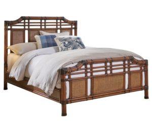Palm Cove Rattan Wicker Bed